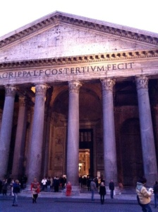 The pantheon!