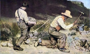 The Stone Breakers by Gustave Courbet